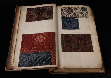 Stalenboek Kralingsche Katoenmaatschappij Museum Rotterdam Modemuze