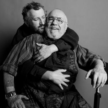 Afb. 5. Marcel Musters en Koos van den Akker, 2012. Foto: Inez van Lamsweerde.