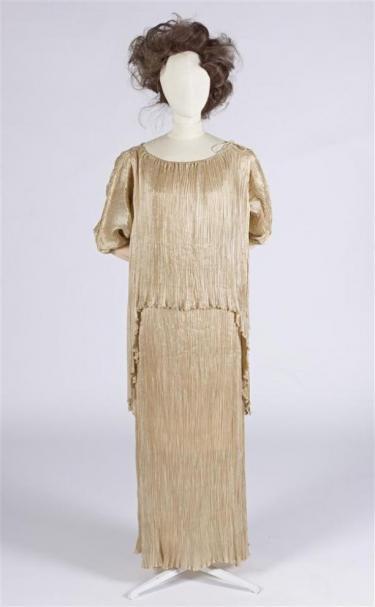 Delphos (Peplos), Mario Fortuny, ca. 1914, collectie Gemeentemuseum Den Haag, aankoop 1981, objectnr.: 0634379
