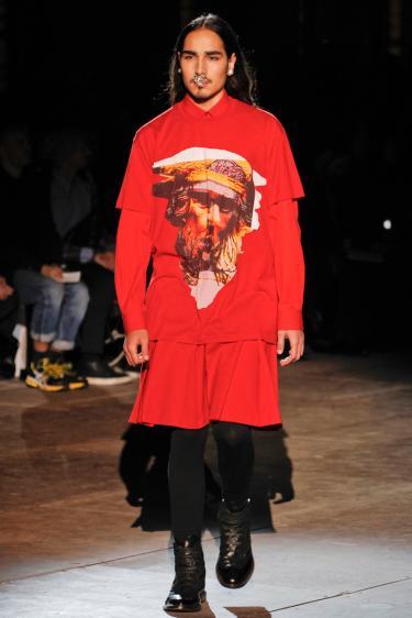 Givenchy Fall 2012 Menswear, ©Style.com