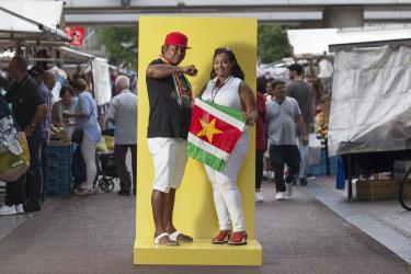 Gwen en Jimmy, De stijl van Zuidoost, foto: © Les Adu
