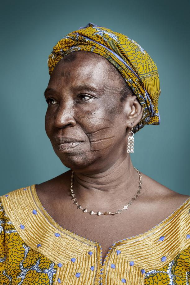 Mrs Kouya B, Series Hââbré the last generation, 2013, © Joana Choumali.