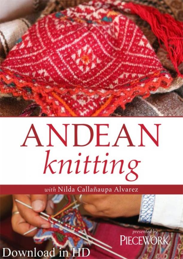 Andean Knitting with Nilda Callañaupa Alvarez.
