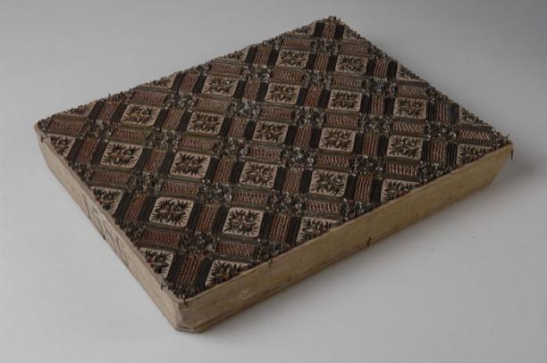 drukblok voor het bedrukken van katoenen stoffen, 1890-1900