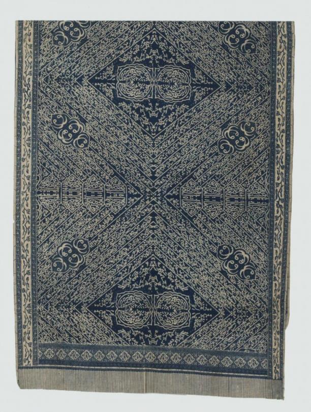 Afb 7 Kain panjang 'batik tulis arab', 1900-1950, collectie Asian Art Museum in San Francisco, objectnummer: F2011.39.4.