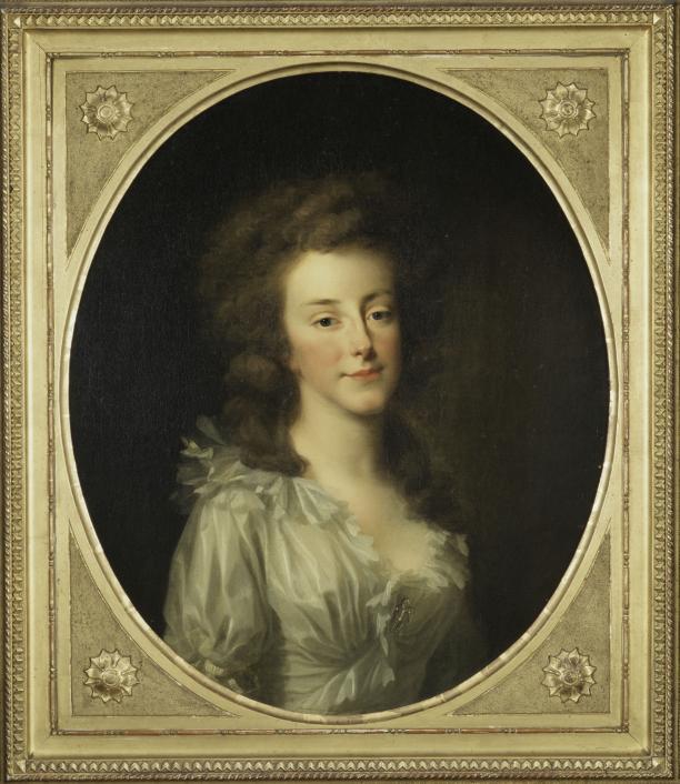 Afb. 5. J.F.A. Tischbein, Prinses Louise, 1789. Paleis Het Loo, Apeldoorn, langdurig bruikleen van Geschiedkundige Vereniging Oranje-Nassau.