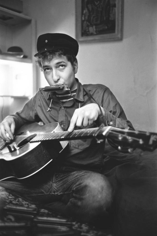 Afbeelding 8: Bob Dylan in New York City, 1962. Fotograaf: Ted Russell.