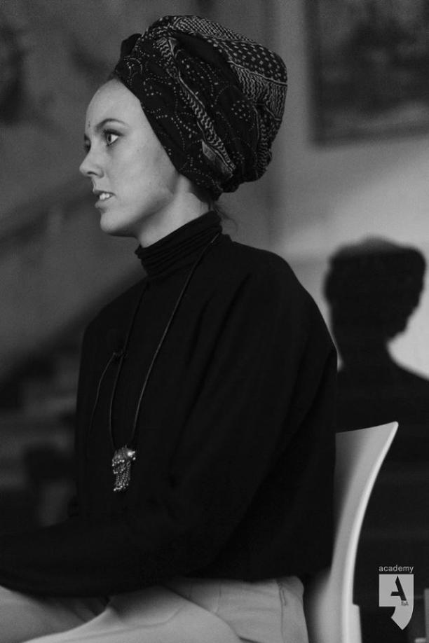 De headwrap, model: Charlotte Corstanje, foto: ©Jane Johannes.