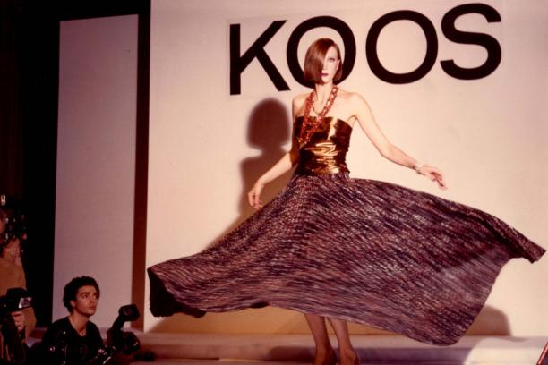 Modeshow Koos van den Akker, 1981.
