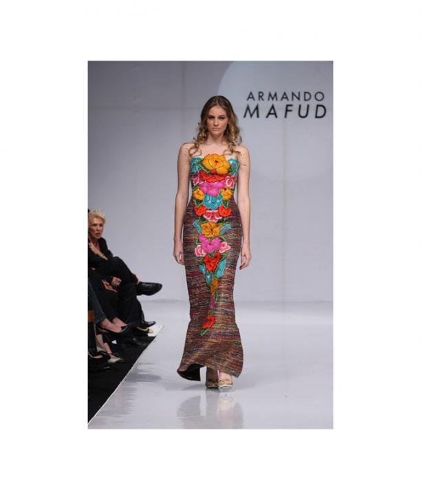 Armando Mafud, Mexican Fashion Week, S/S 2009, via: Popsugar.