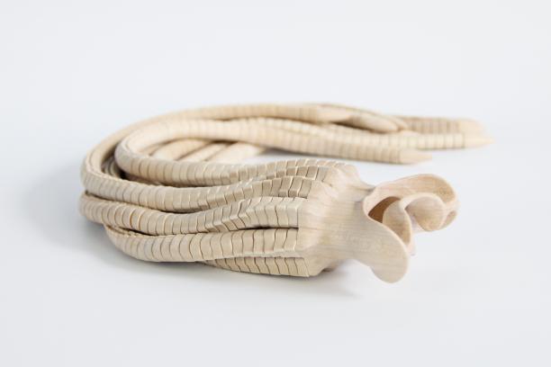 Studio Frank Verkade, Serpent Mounthpiece, 2016, collectie Museum Arnhem.