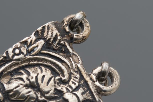 Voorzijde van de nieuw gemaakte armbanduit, 1943, Collectie: Nederlands Openluchtmuseum, inventarisnummer NOM.9277-48