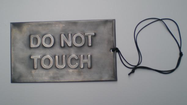 Zoe Brand, Do not touch, 2018, collectie Paul Derrez en Willem Hoogstede