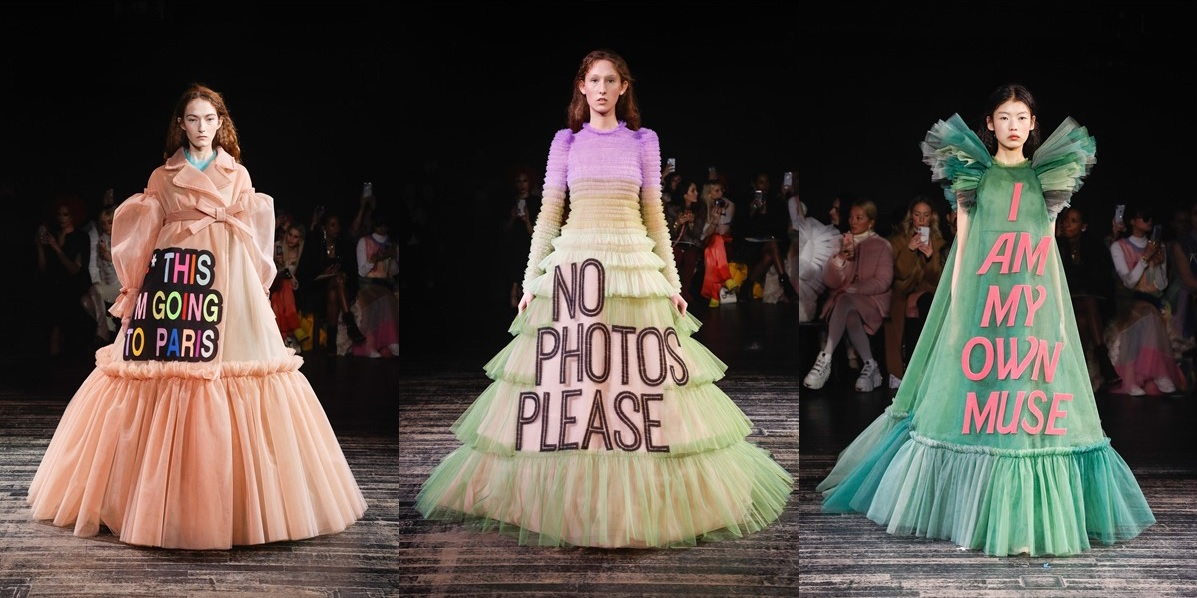 Victor & Rolf Fashion Statements S/S 2019